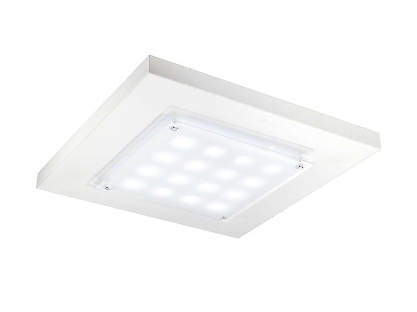 LED direct light recessed ceiling lamp CIELO - PLEXIFORM