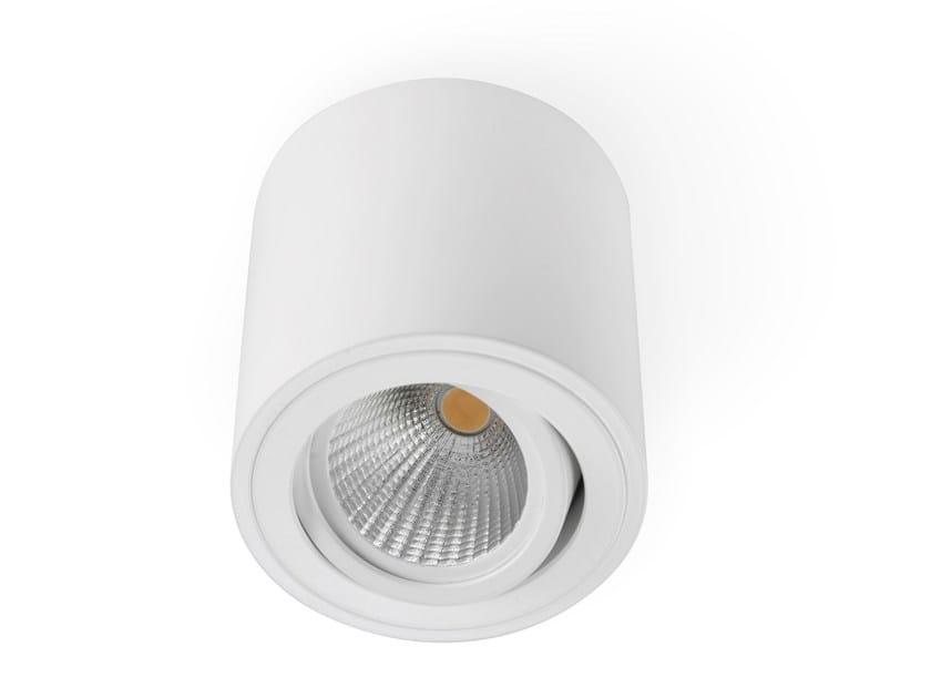 LED aluminium ceiling lamp CILINDER - LED BCN Lighting Solutions