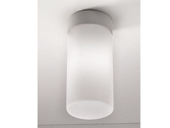 Glass ceiling lamp CILINDRO | Ceiling lamp - Ailati Lights