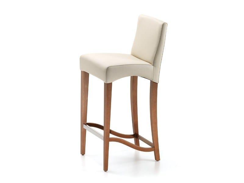 Upholstered counter stool CINDY - Cattelan Italia