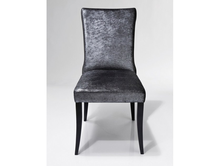Upholstered fabric chair CINTURA GLAMOUR - KARE-DESIGN