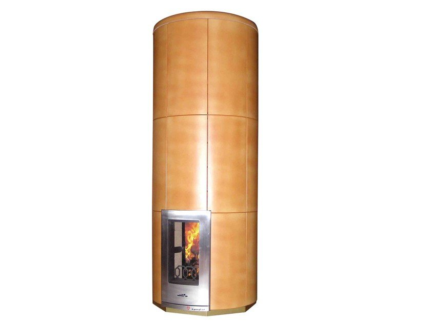Stufa a legna in ceramica CIR3 | Stufa in ceramica - KarniaFire