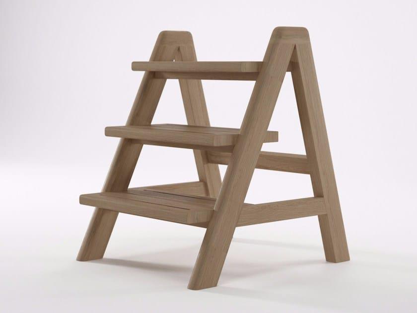 Wooden step stools CIRCA17 | Step stools by KARPENTER