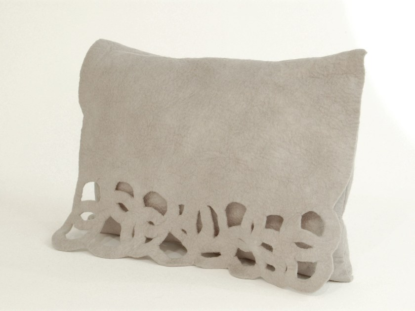 Wool felt cushion CIRCLE | Wool felt cushion by Ronel Jordaan™