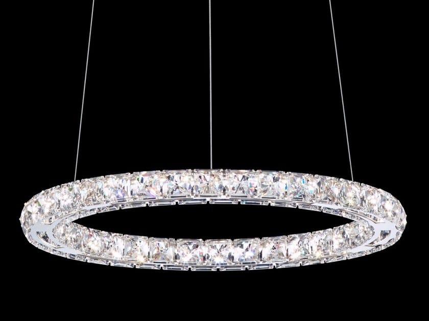 LED pendant lamp with Swarovski® Crystals CIRCLE by Swarovski