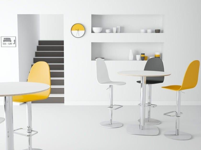 Round high table CIRCUS by CANCIO