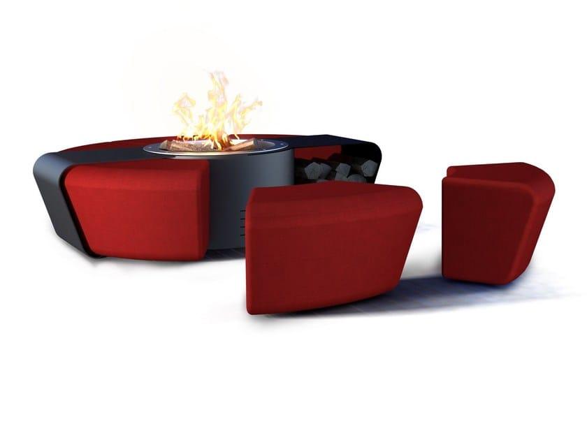 Steel fire baskets CIRCUS by GlammFire