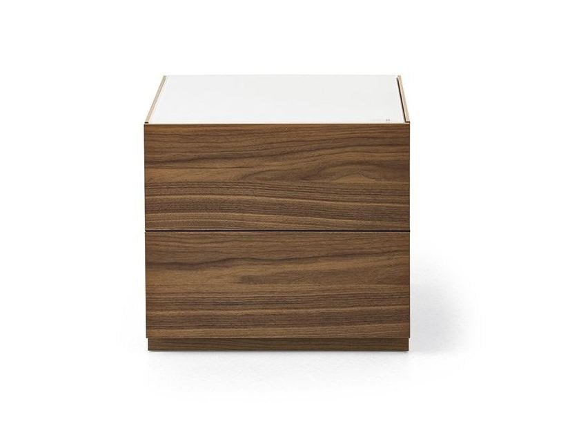 Bedside table with drawers CITY | Bedside table by Calligaris