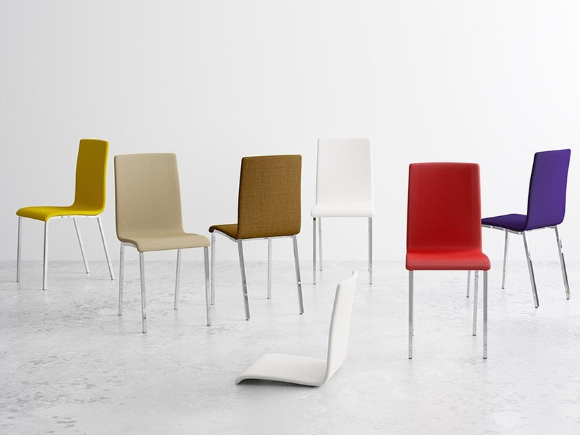 Fabric chair CITY by CANCIO