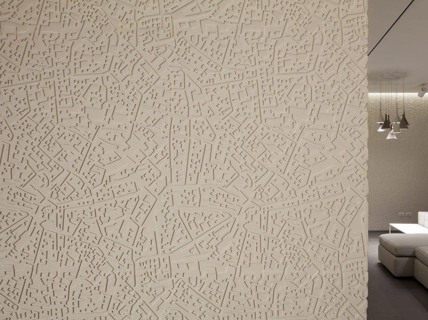 Modular indoor/outdoor 3D Wall Panel CITYMAP - 3D Surface