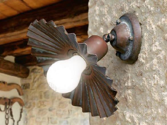 Brass wall light CIVETTA | Wall light by Aldo Bernardi