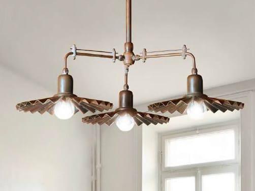 Brass chandelier CIVETTA | Chandelier - Aldo Bernardi