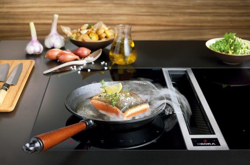 Sistema di aspirazione per piano cottura ckase bora for Bora elettrodomestici