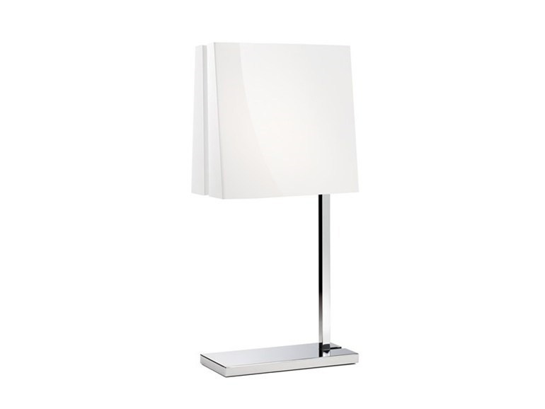 Polycarbonate table lamp CLAP by Fabbian