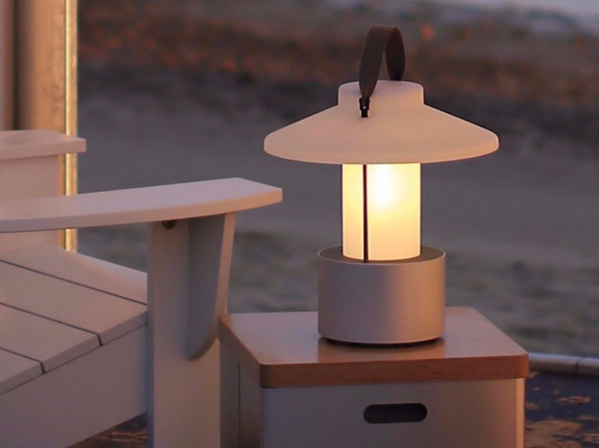 Floor lamp with rechargeable battery CLARO! - TRADEWINDS