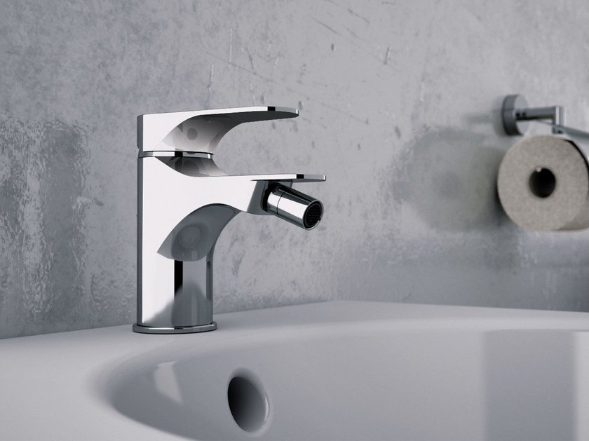 Single handle bidet mixer without waste CLASS LINE | Bidet mixer without waste by Remer Rubinetterie