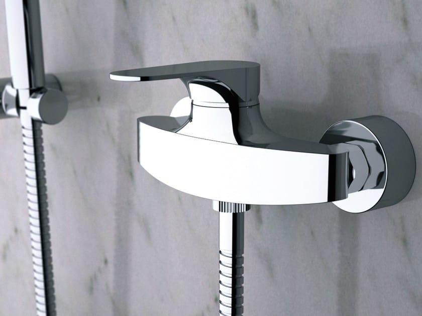 Chrome-plated single handle shower mixer CLASS LINE | Single handle shower mixer - Remer Rubinetterie