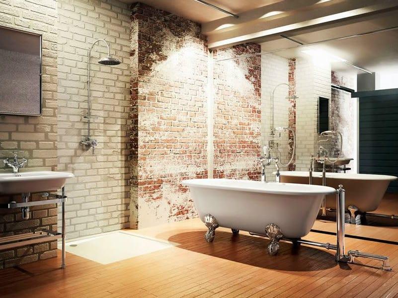 Oval bathtub on legs CLASSIC 1700 - Polo