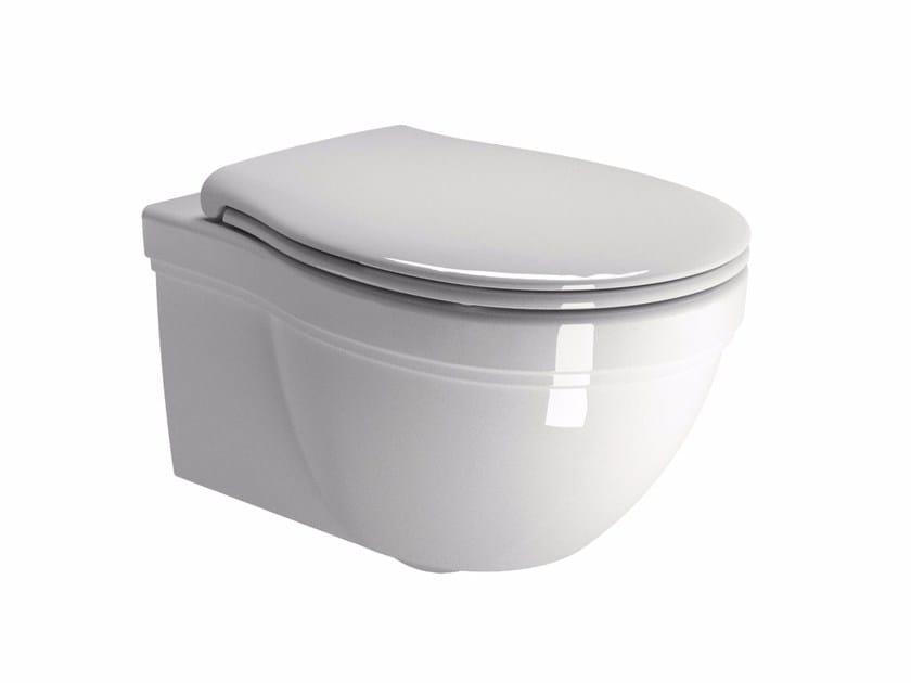 Wall-hung toilet CLASSIC 55 | Toilet - GSI ceramica