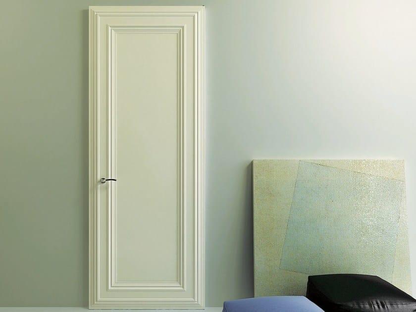 Hinged wooden door CLASSICAL - Pail Serramenti