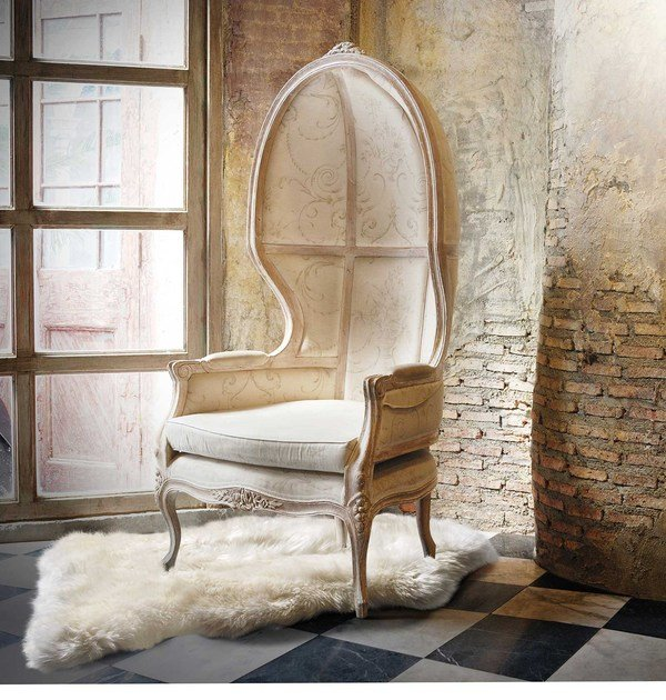 Long pile natural sheepskin rug CLEA | Natural sheepskin rug - ITALY DREAM DESIGN - Kallisté