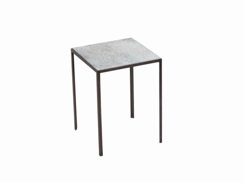 Square side table CLEAR PATCHWORK SIDE TABLE - Notre Monde