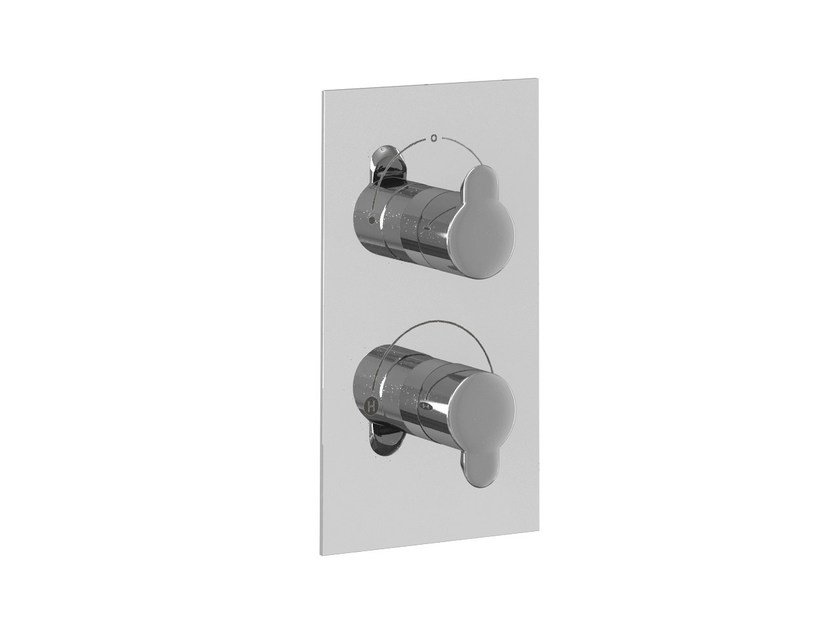 2 hole thermostatic shower mixer with diverter CLEARGREEN - V51 by Polo
