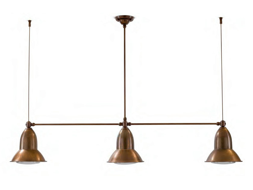 Metal pendant lamp CLEMATIDE - Aldo Bernardi