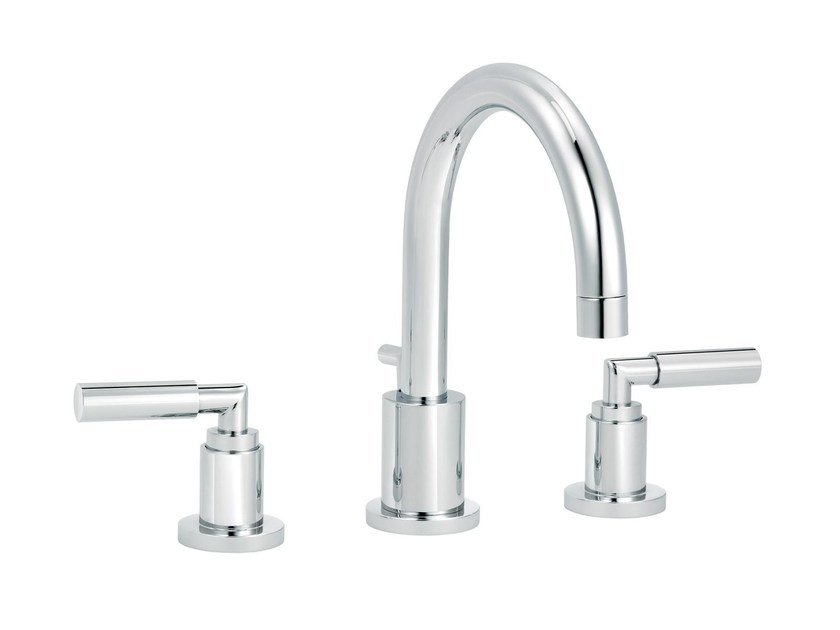 3 hole countertop washbasin mixer CLIFF | 3 hole washbasin mixer - rvb