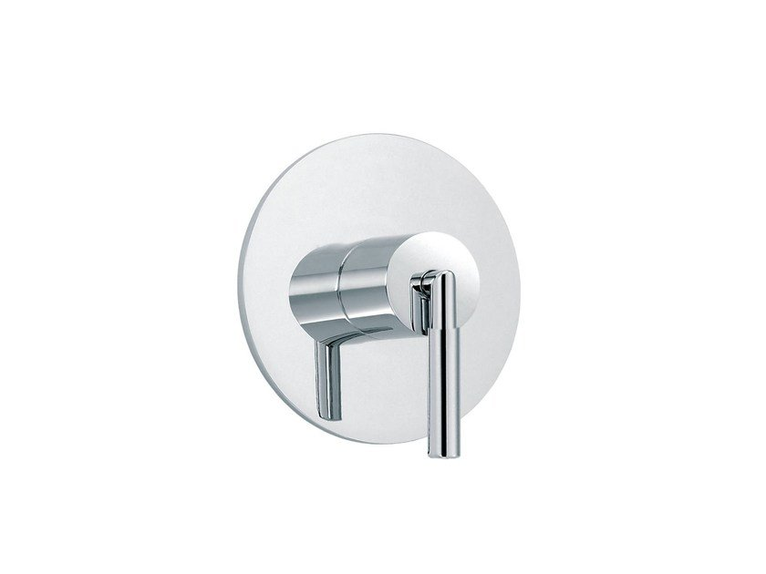 Chrome-plated 1 hole shower tap CLIFF | Thermostatic shower tap - rvb