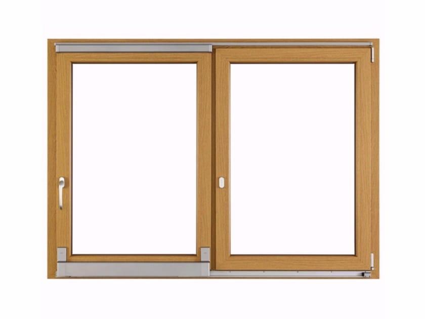 PVC top-hung window CLIMATEK PLUS by FOSSATI PVC