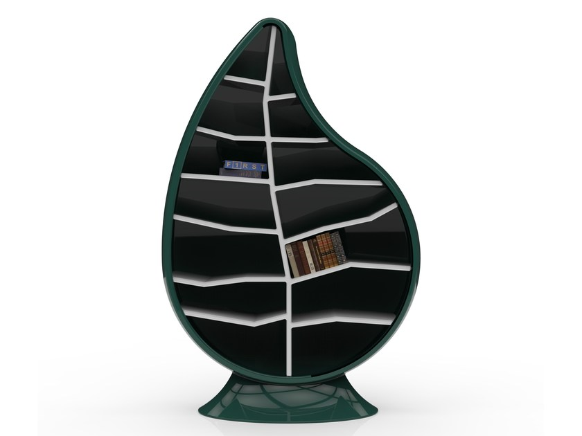 Open Adamantx® bookcase CLOROFILLA by ZAD ITALY