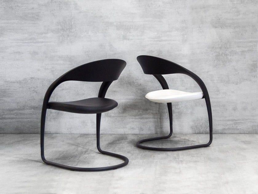 Cantilever chair CLOU - Tonon