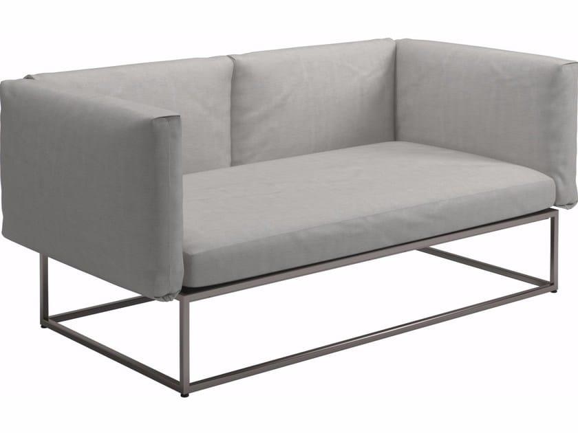 2 seater garden sofa CLOUD | Garden sofa - Gloster