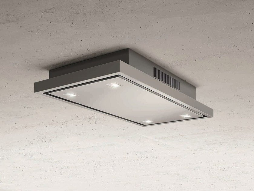 Built-in stainless steel cooker hood with activated carbon filters CLOUD FIVE - Elica