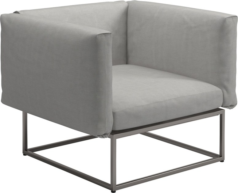 Club garden armchair CLOUD | Garden armchair by Gloster