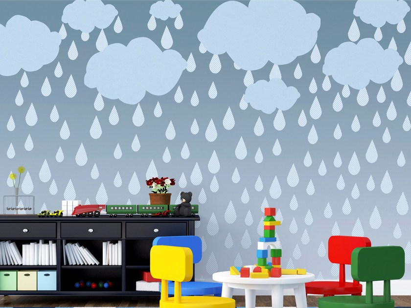 Kids wallpaper CLOUDS - Wallpepper