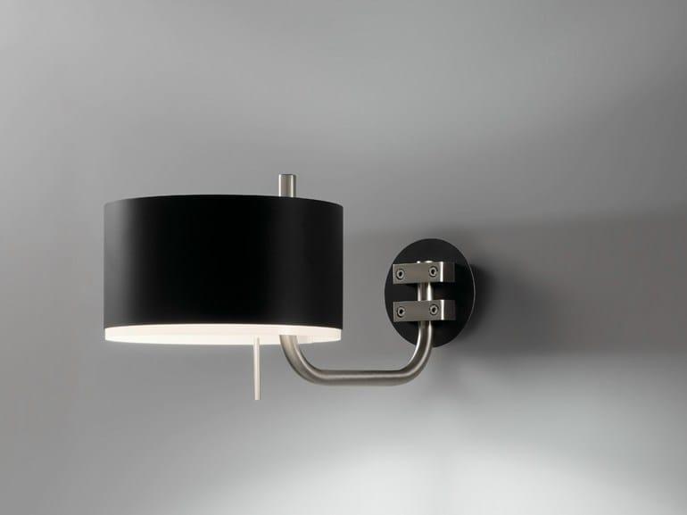 Direct-indirect light aluminium and PVC wall lamp CLUB A - BOVER Il. Luminació & Mobiliario