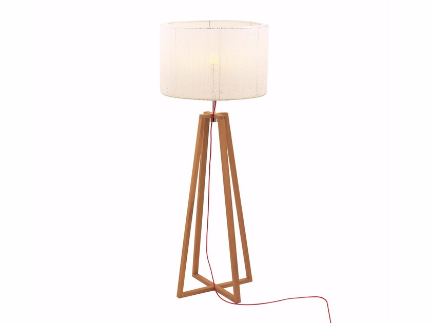 Teak Floor lamp CLUB by ROYAL BOTANIA