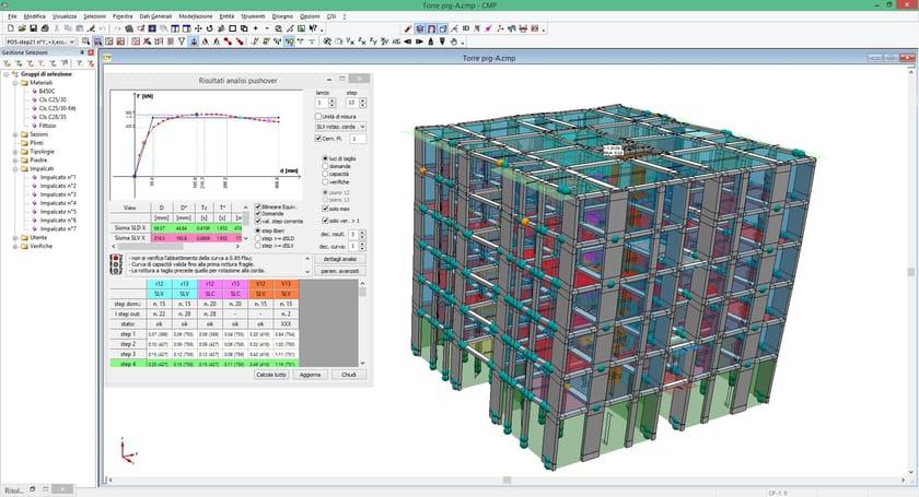 Software integrato calcolo strutturale cad cmp analisi for Software di progettazione edilizia