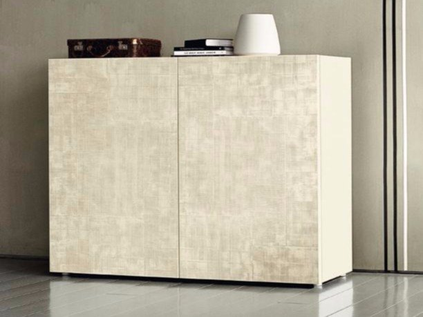 Wooden highboard with doors CND 1600 - Casamilano