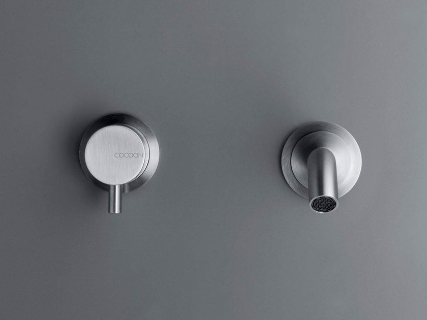 2 hole washbasin mixer COCOON MONO SET 02 - COCOON