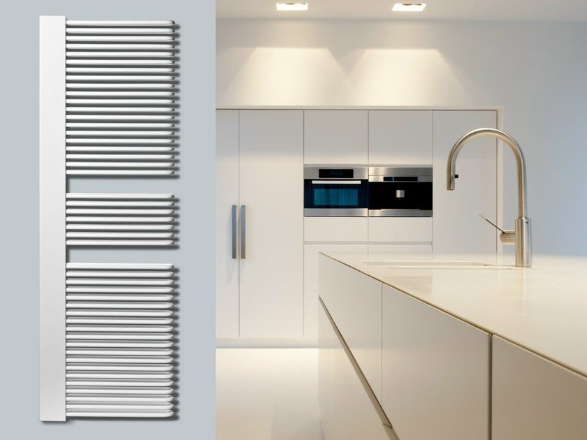 Low temperature vertical steel decorative radiator COCOS PLUS - VASCO