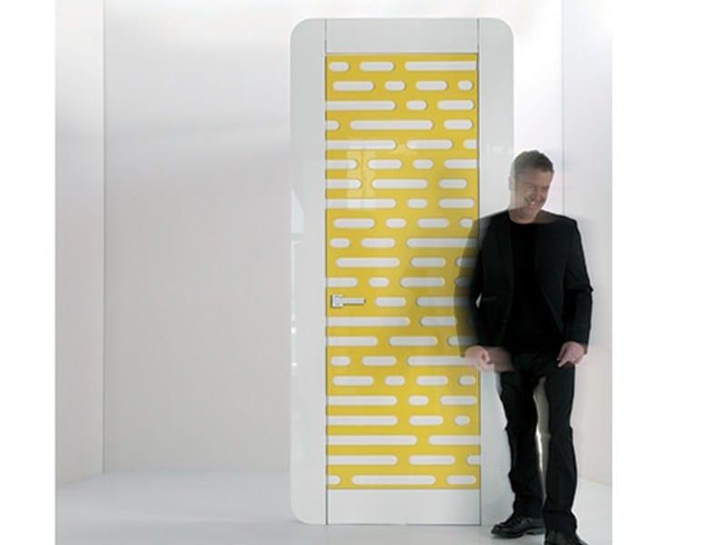Hinged wooden door CODE - Pail Serramenti