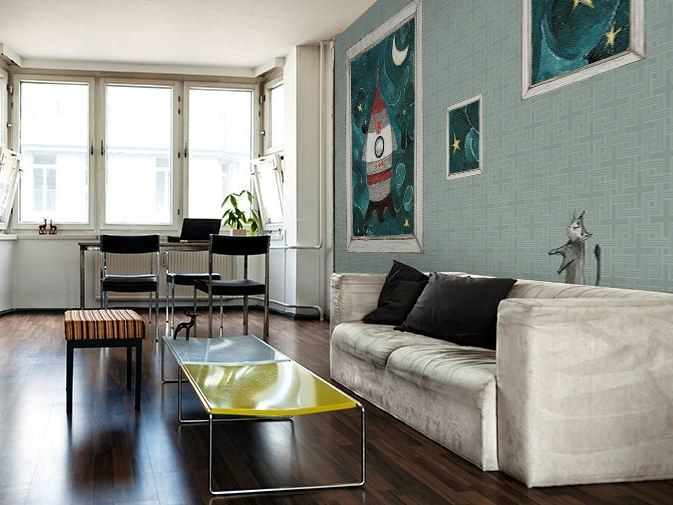Motif washable vinyl wallpaper COHETE - GLAMORA