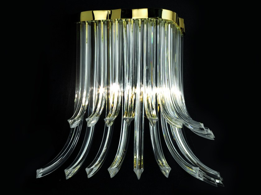 Crystal wall lamp COLETTE - Fratelli Longhi