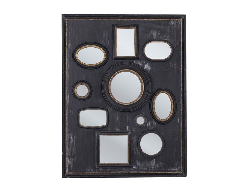Rectangular wall-mounted framed mirror COLLAGE FRAME - KARE-DESIGN