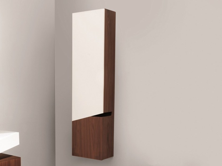 Storage bathroom cabinet with doors COLLAPSE | Bathroom cabinet - Rapsel