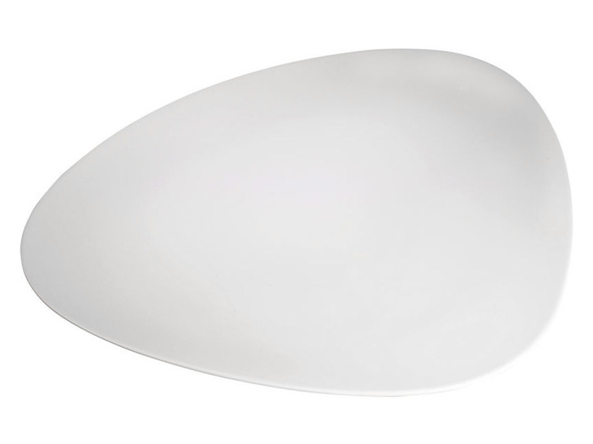 Porcelain serving plate COLOMBINA COLLECTION | Serving plate - ALESSI