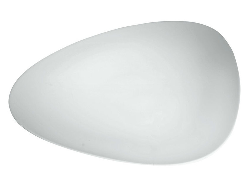 Porcelain dinner plate COLOMBINA COLLECTION   Dinner plate - ALESSI